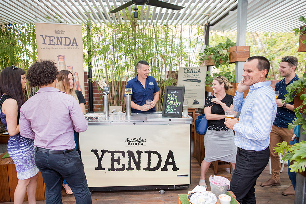 Yenda Pop-up bar