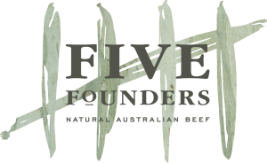 Five Founders Beef, proudly served at the Norman Hotel