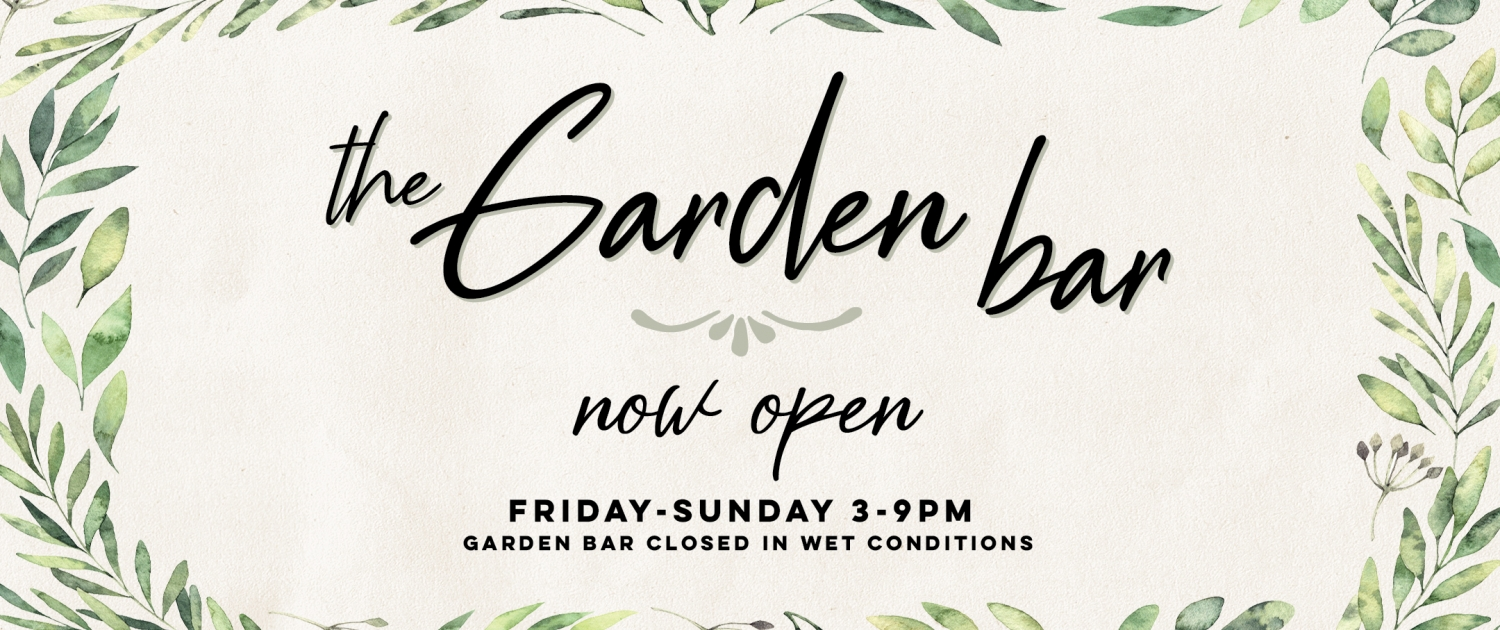 Garden Bar Beer Cocktails and Canapes