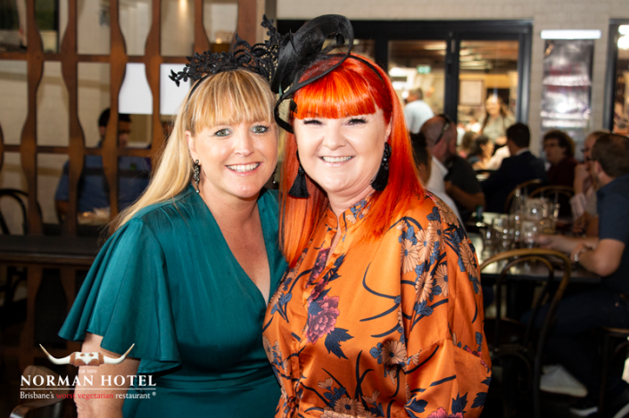 Photos of guests at Norman Hotel Melbourne Cup Lunch