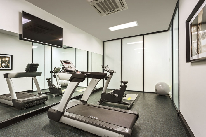 Quest Woolloongabba hotel gym