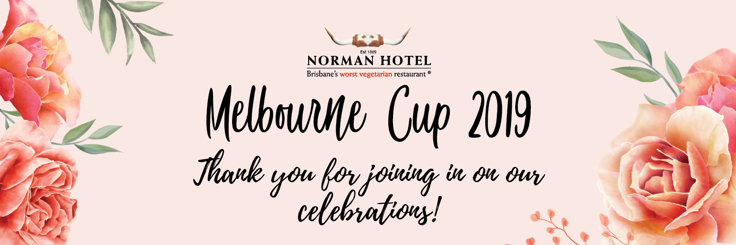 Melbourne Cup Thank you