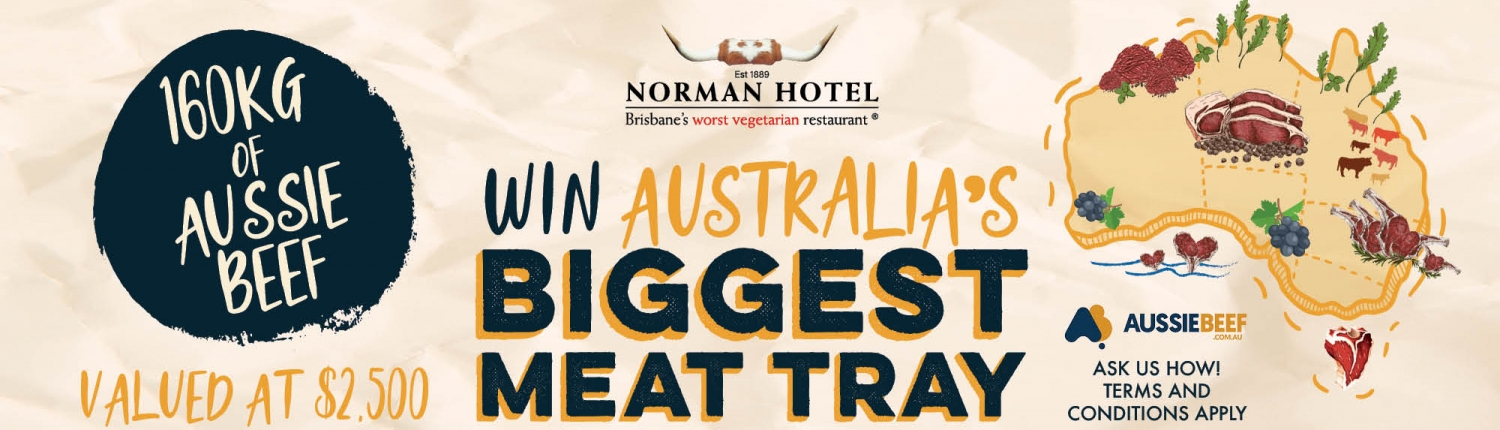 Win Australia's Biggest Meat Tray Valued at $2,500 160kg of Aussie Beef