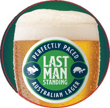 Last Man Standing Beer