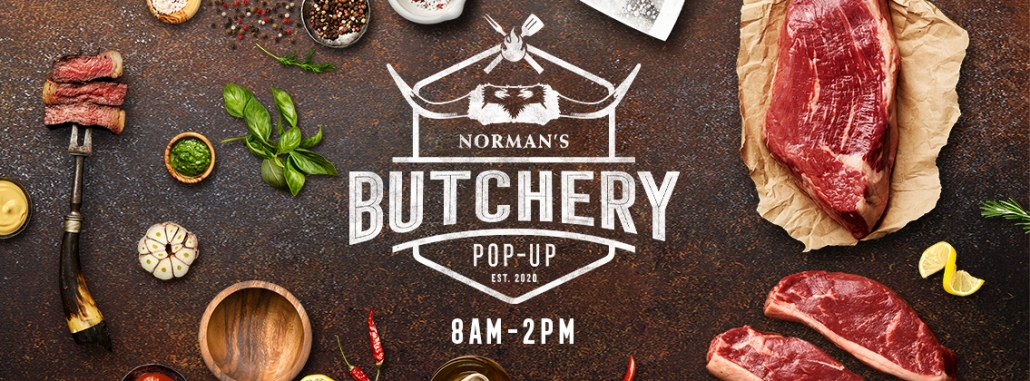 Norman Pop-Up Butchery open Saturday 8-2pm