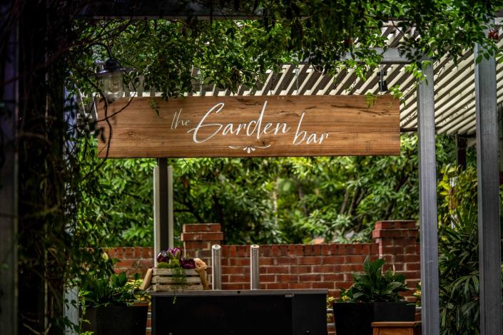 Garden Pop-up Bar