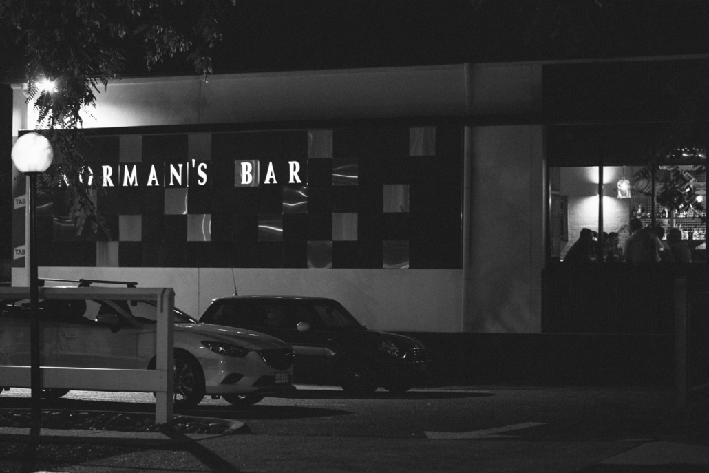 Norman's Bar Large Function Space