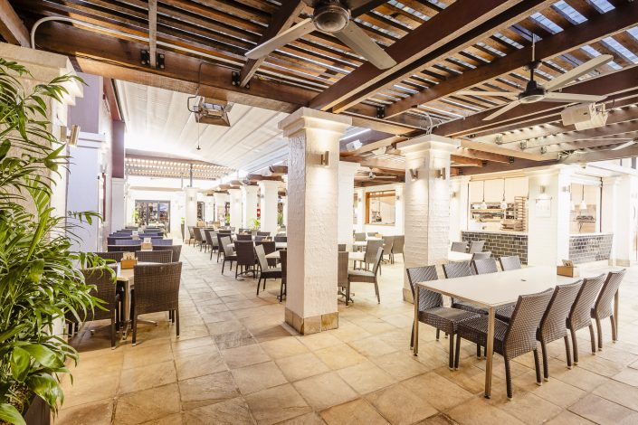 Grill Court perfect for intimate dining