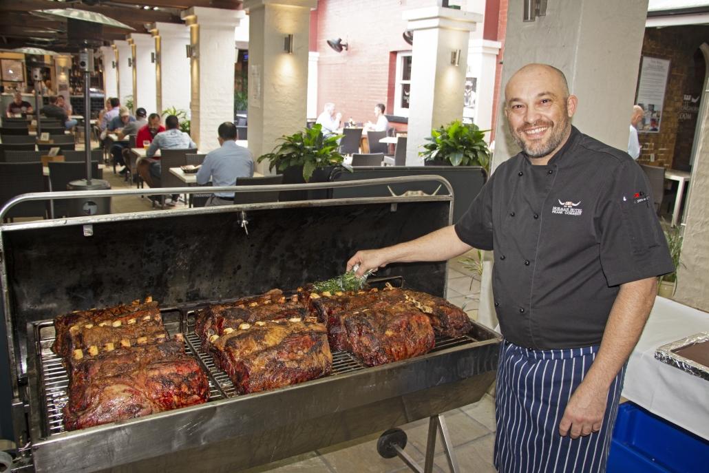 "Executive Chef Frank Correnti - Aussie Beef ""Royal"" 70 Day Standing Rib Roast"