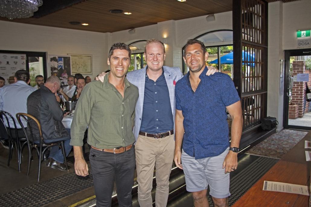 Simon Black, Luttsy & Luke Hodge